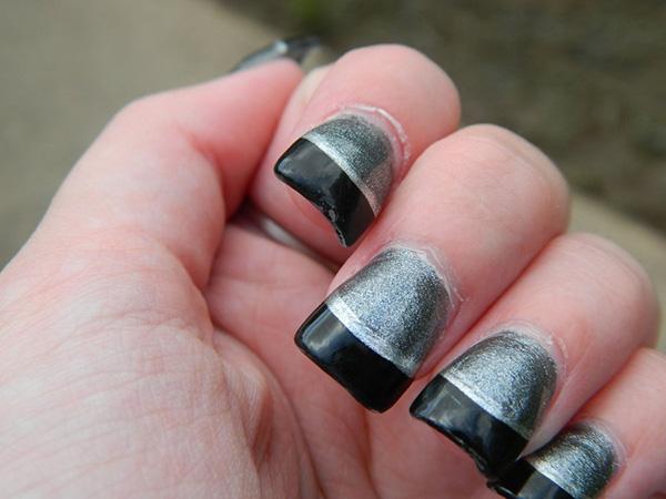 Cute Nail Designs Silver