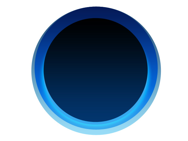 11 Blue Circle PSD Images