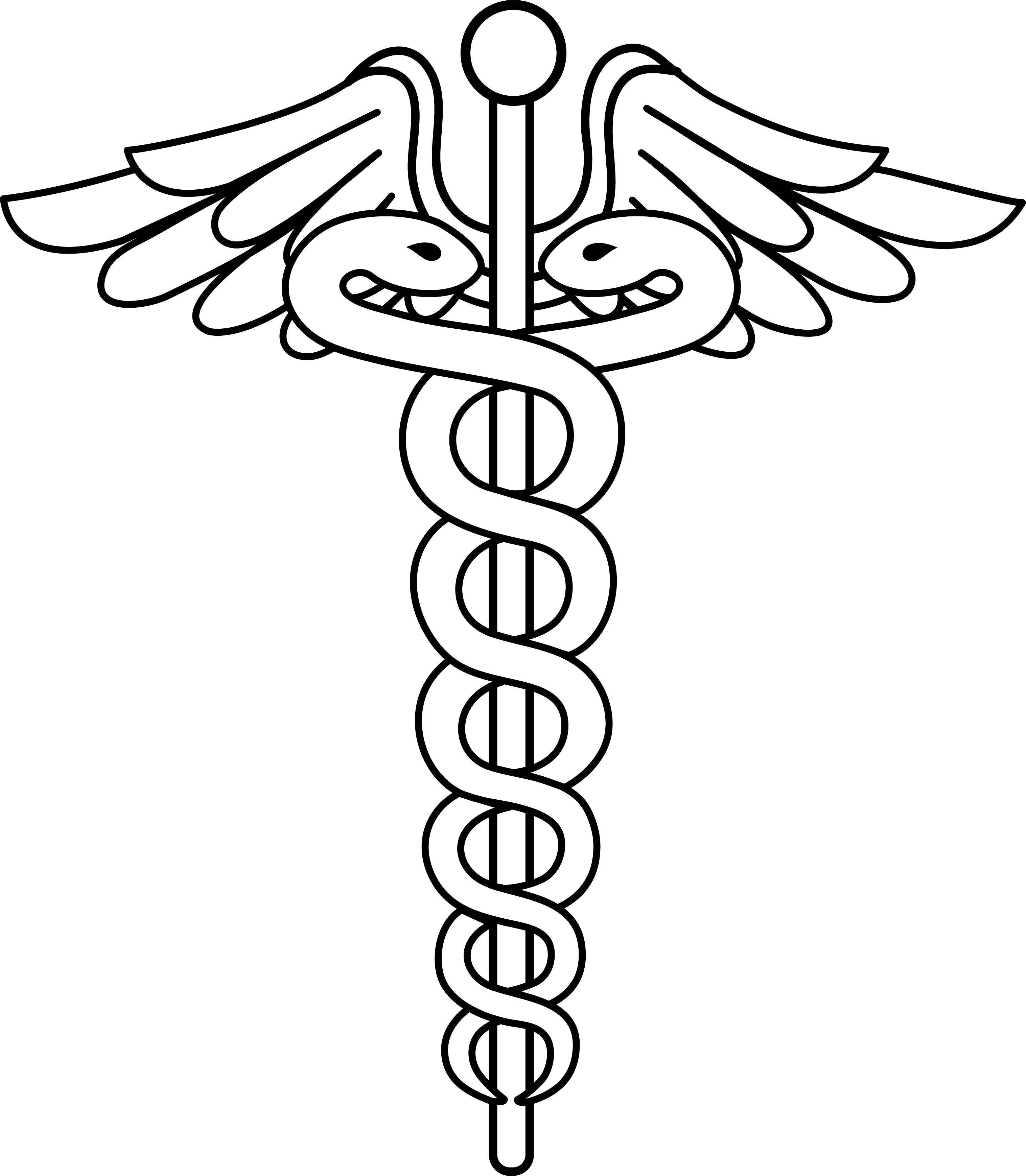 Doctor Symbol Clip Art Black and White