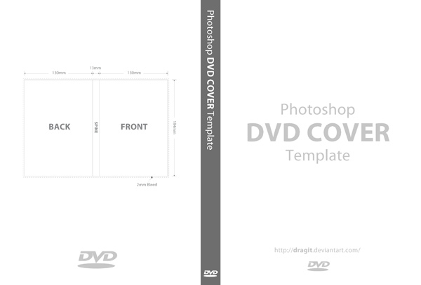14 DVD Cover Template PSD Images Dimensions DVD Case Cover – Psd Album Cover Template
