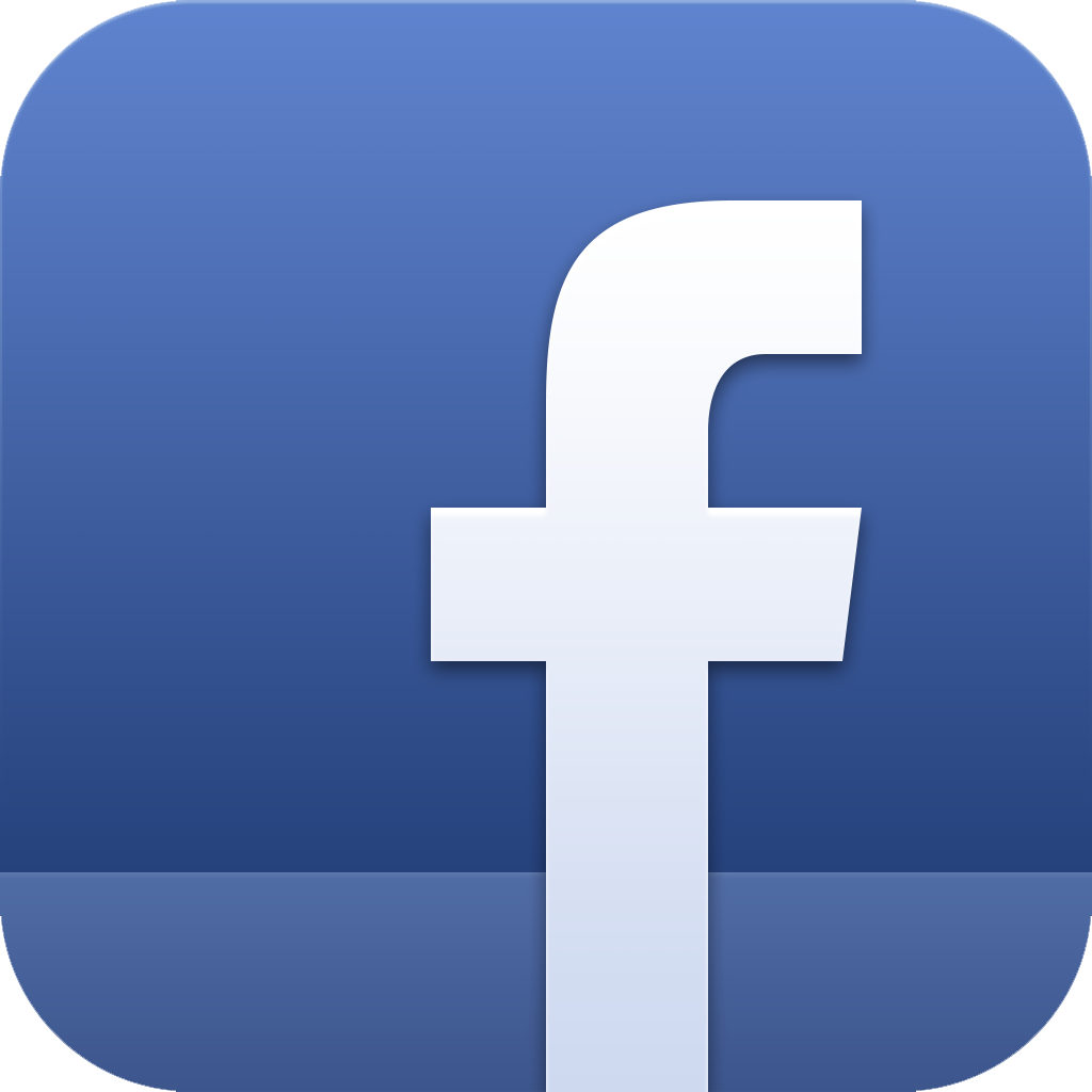 Facebook iPhone App Icon