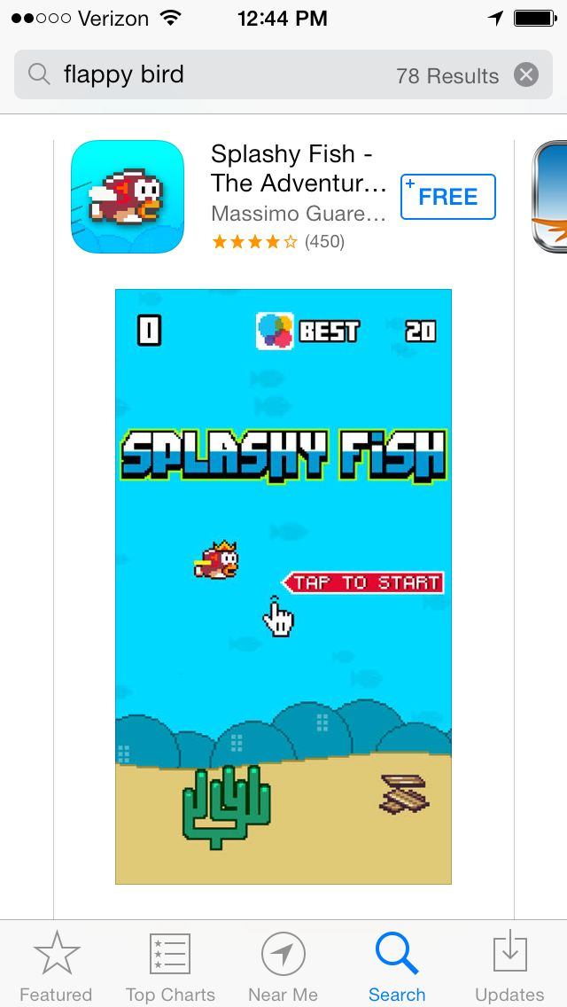 10 IPod Flappy Bird App Icon Images