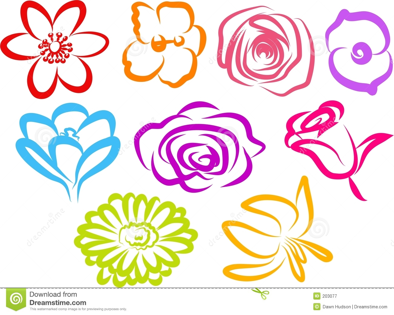 Free Flower Icons