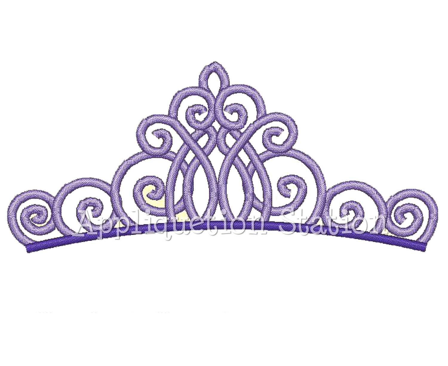 Free Machine Embroidery Crown Designs