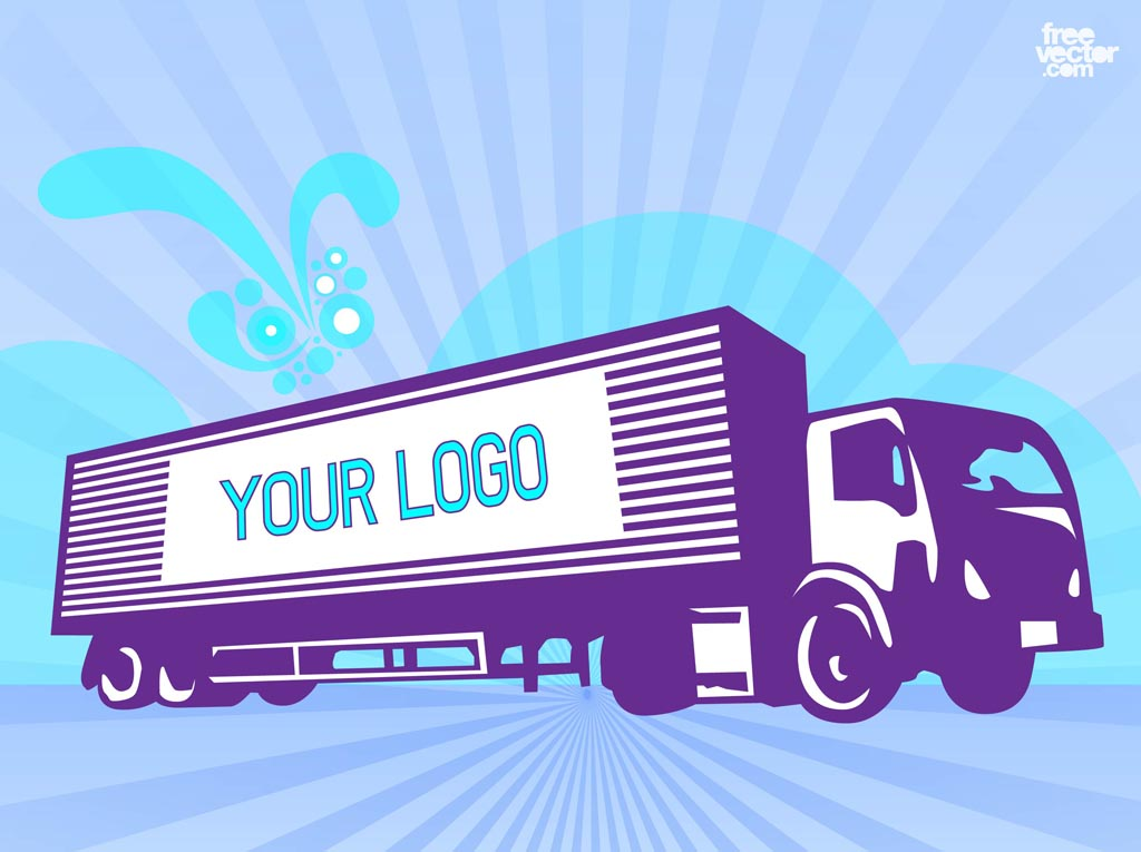 Fascinating moving truck vector photos