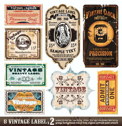 Free Vintage Wine Labels