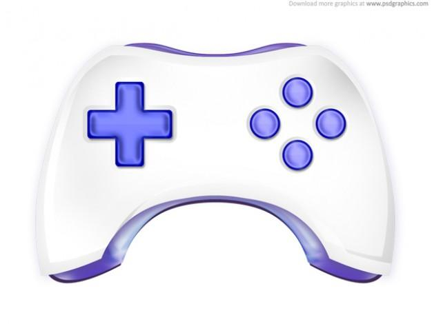 Game Controller Icon White