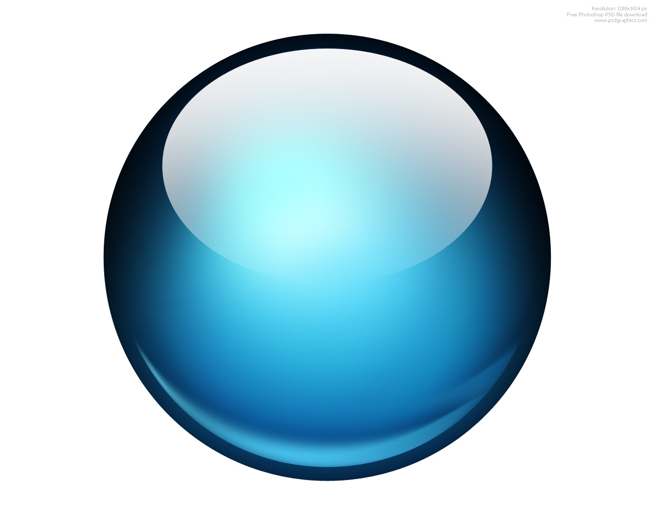 6 Blue Circle Icon Images