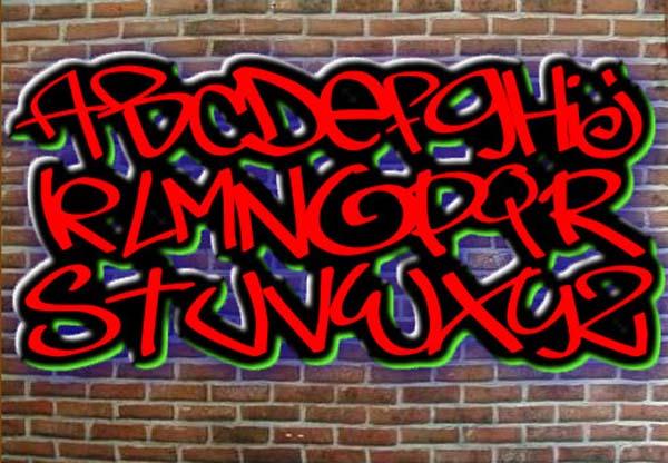 16 Graffiti Font Styles Generator Images
