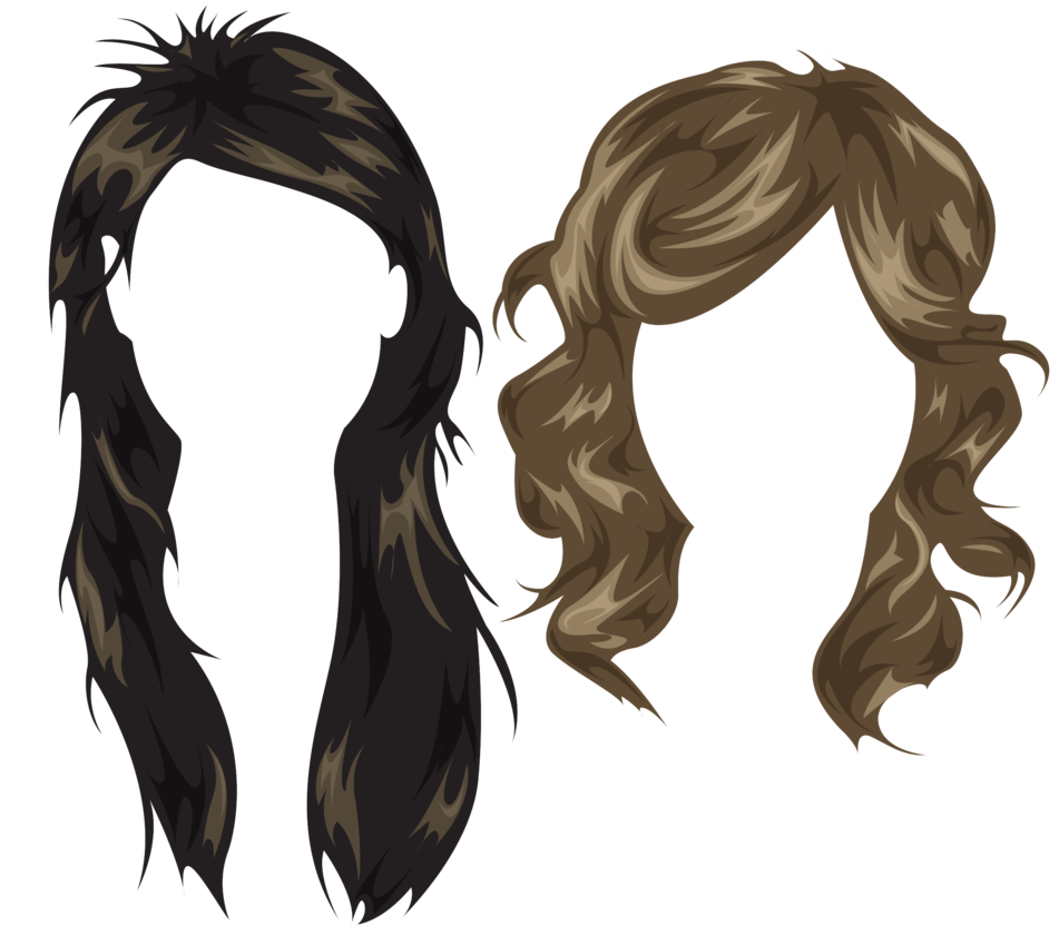 Hair PSD Photoshop Styles