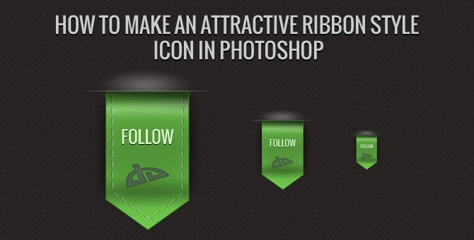 15 Create A Ribbon In Photoshop Images