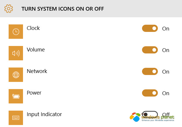 How to Turn On Windows 10 Icons