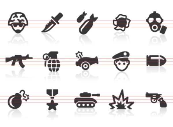 Icon Military Clip Art