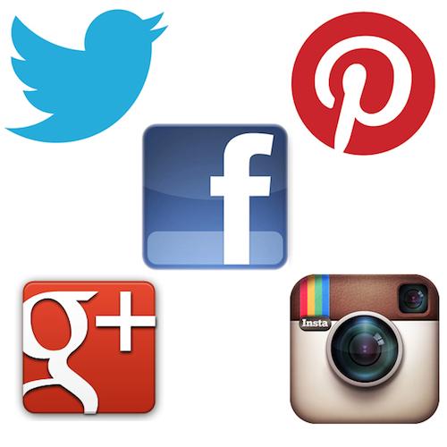 Instagram Facebook Twitter Google