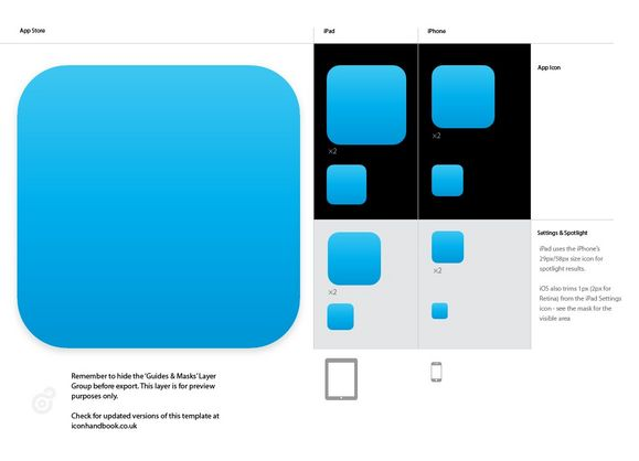 16 ios app design templates images iphone app design for Iphone app logo template