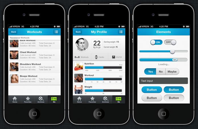 Awe Inspiring 16 Ios App Design Templates Images Iphone App Design Interior Design Ideas Jittwwsoteloinfo