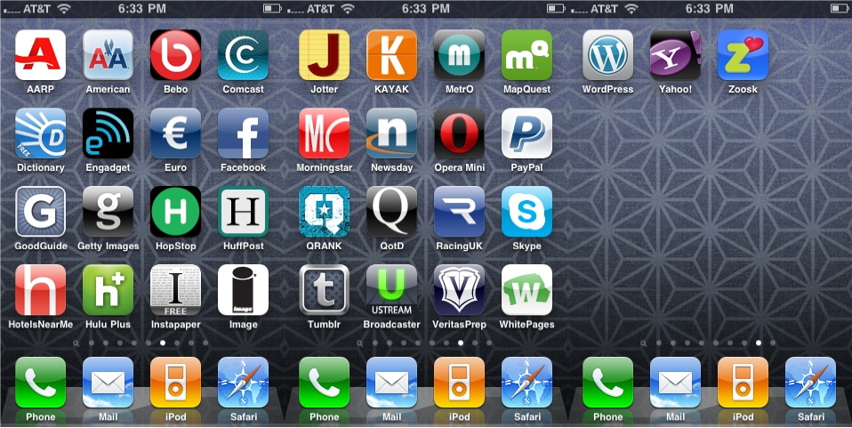iPhone Apps Logo