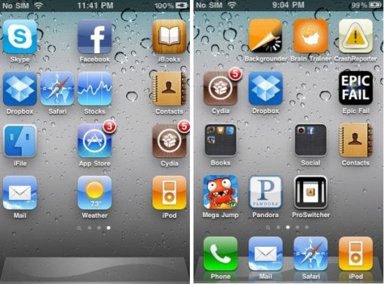 iPhone Home Screen Icons