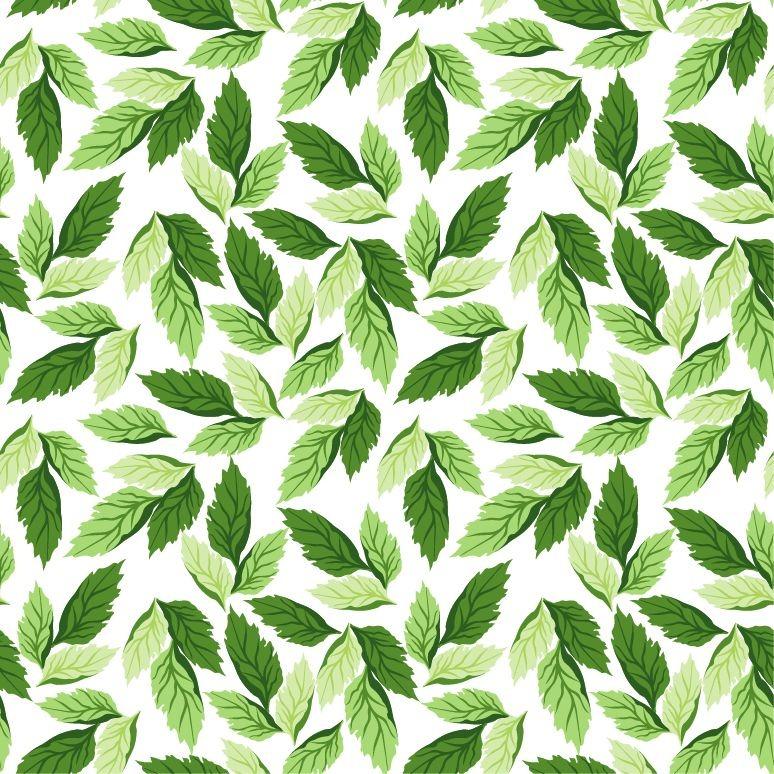 14 Vector Leaf Pattern Images