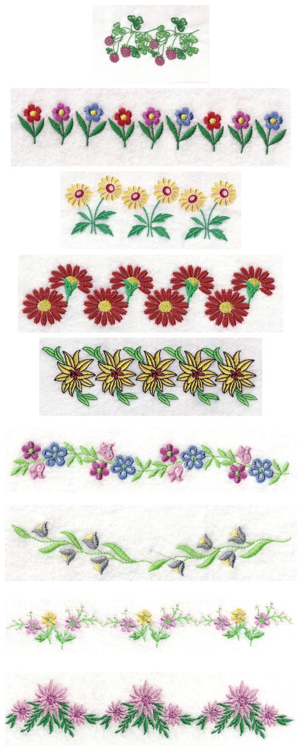 16 Border Machine Embroidery Designs Images  Celtic
