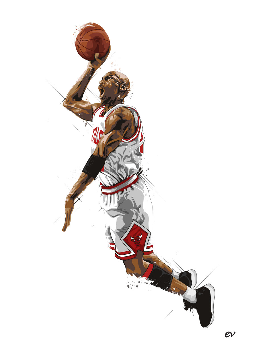 6 Michael Jordan Vector Images