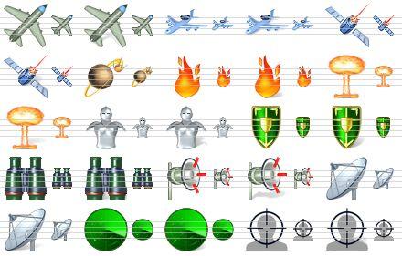 Military Icons Free