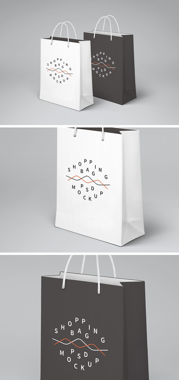 Mock Up Psd Shopping Bag