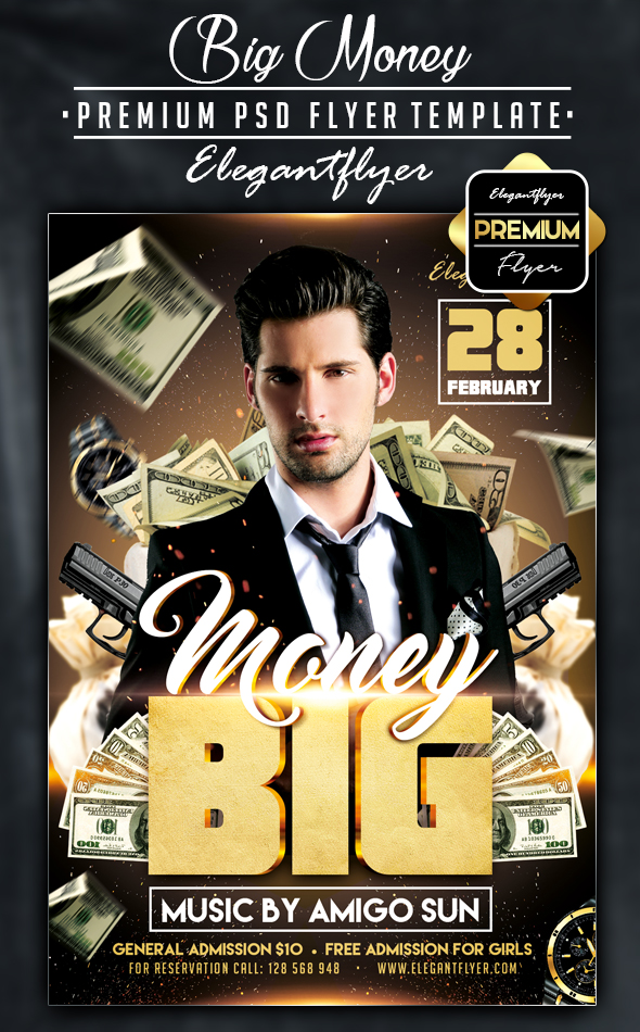 Money Flyer Template