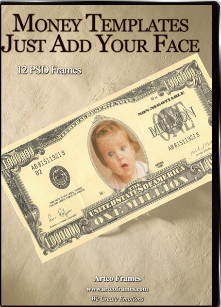 Money Template Photoshop