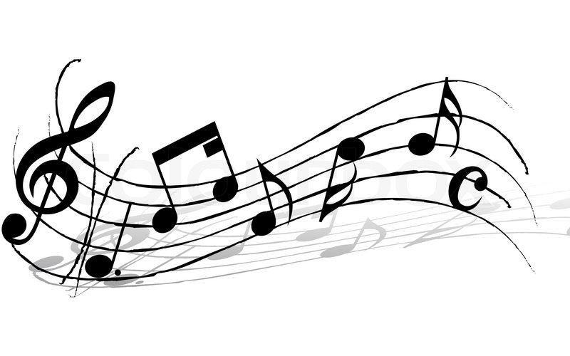 Music Note and Staff Design