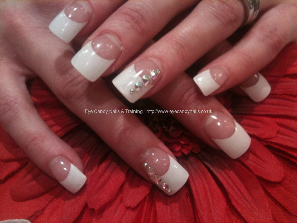 12 White Tip Nail Designs Images