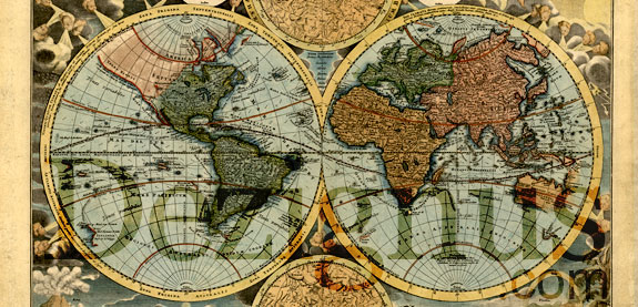 10 vintage world map vector images vintage black white world map old style world map gumiabroncs Image collections