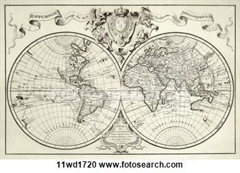 10 vintage world map vector images vintage black white world map old world map clip art gumiabroncs Images