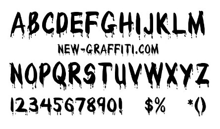 Paint Brush Style Font Download