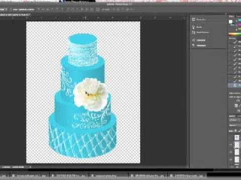 Photoshop Cake Template