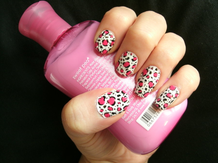 Magnificent Nail Designs With Cheetah Print Photo - Nail Art Design ...