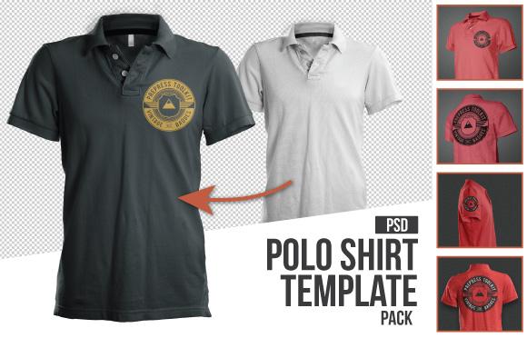 Polo Shirt Mockup Templates
