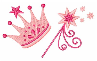 Princess Crown Machine Embroidery Designs Free