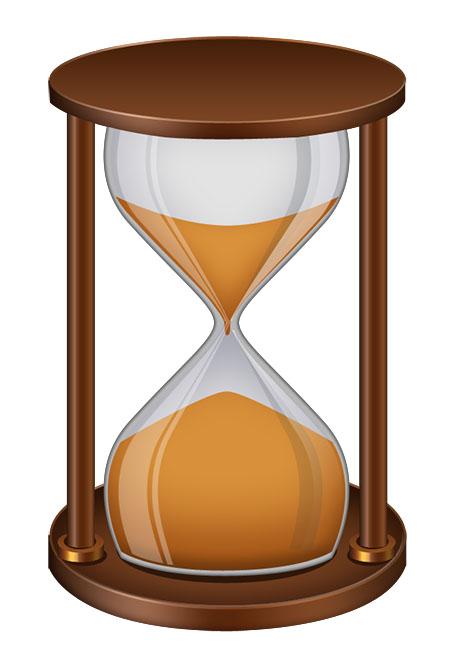14 Sand Clock PSDs Images