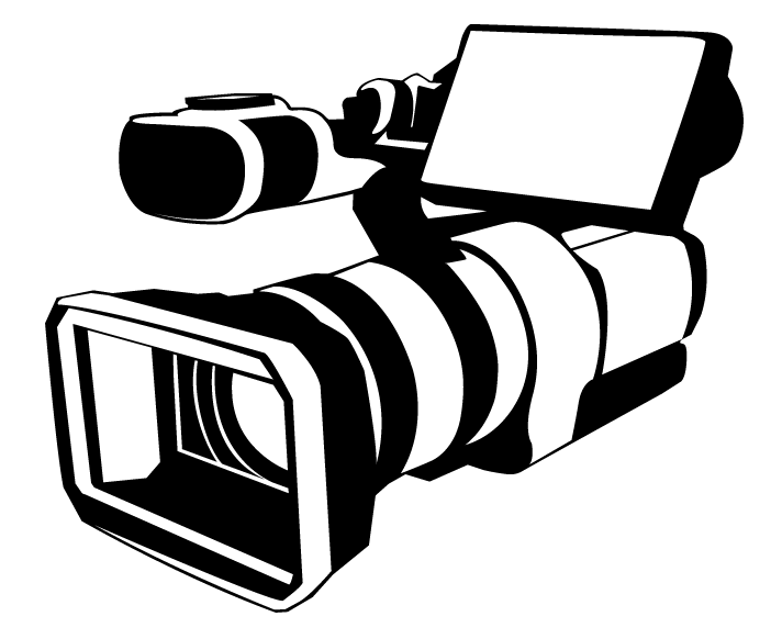 7 Movie Camera Vector Images