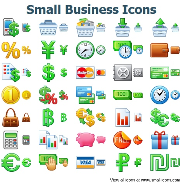 16 Free Small Business Icon.png Images