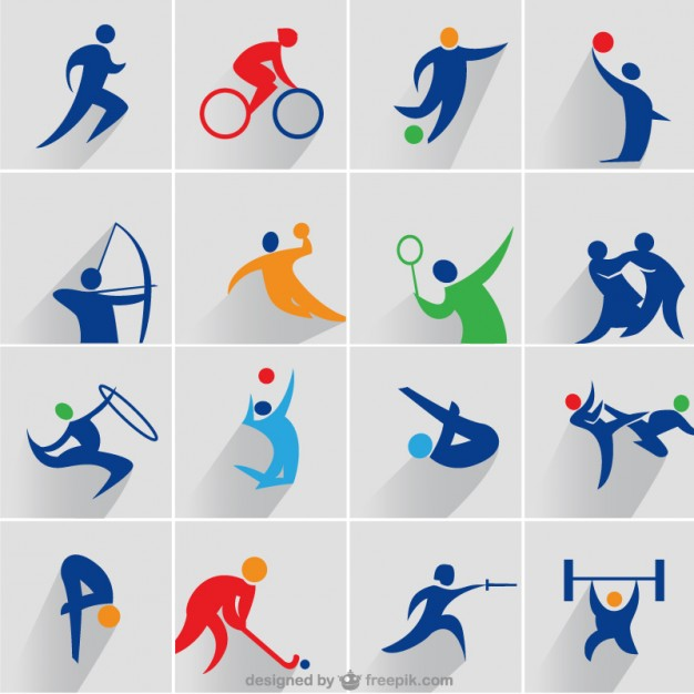 Sports Icons Vector Free Download