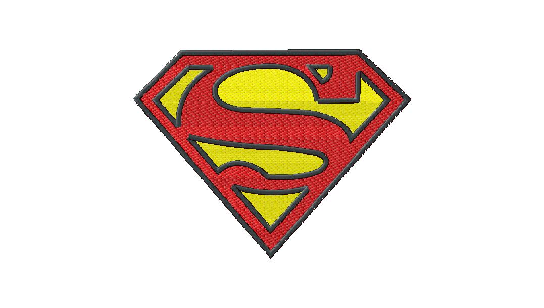 10 Superman Font Embroidery Images
