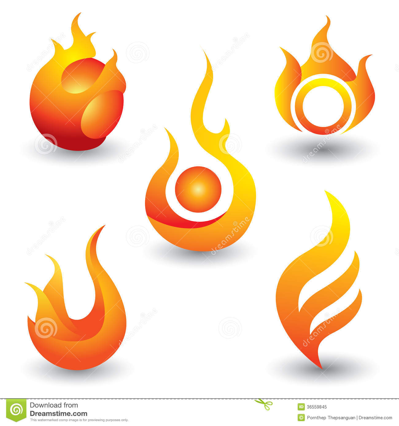 Symbol Fire Flame Icon