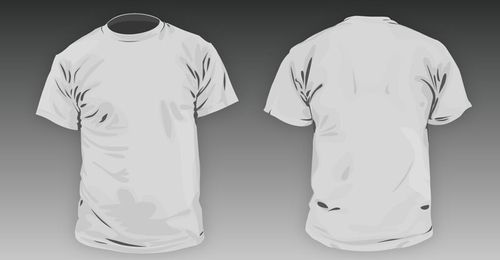 T-Shirt Template PSD