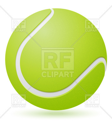 Tennis Ball Vector Free Download