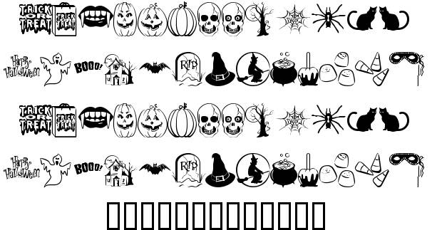 10 Halloween Trick Or Treat Fonts Images