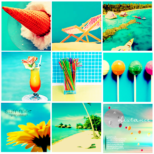 8 Icon Summer Backgrounds Images