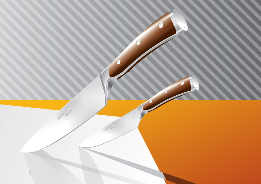 Vector Kitchen Knives