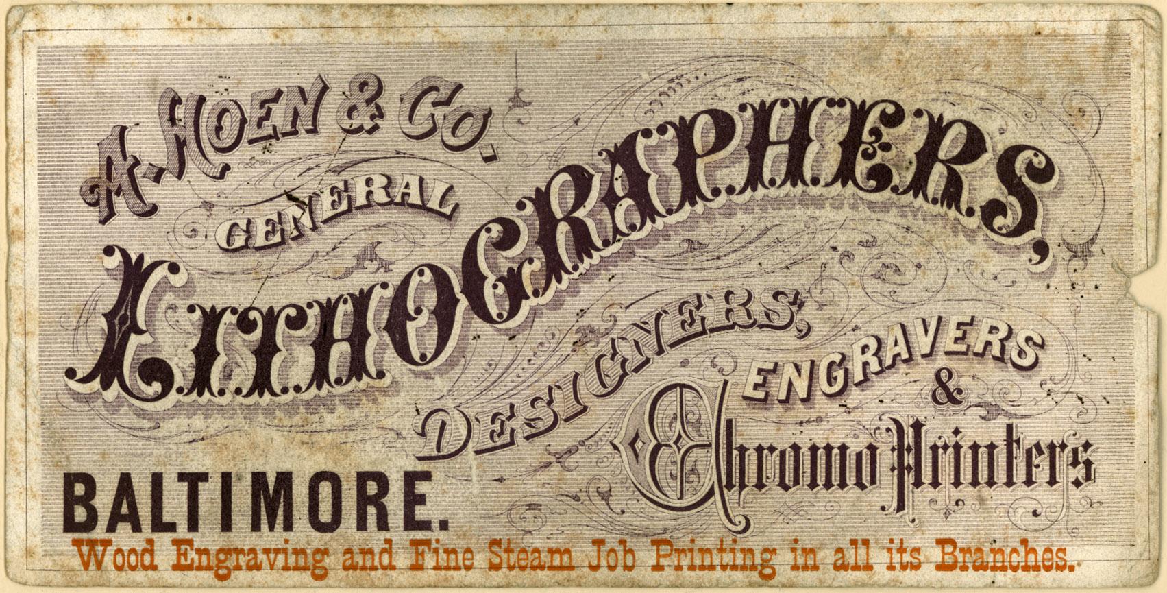 Vintage Ads 1800s